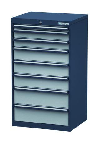 Schubladenschrank Höhe 1220 mm, 8 Schubladen, CL7H121232 – Bild 1