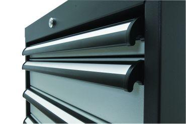 Mobiler Schubladenschrank Höhe 790 mm, 4 Schubladen, CL6H061030M – Bild 3