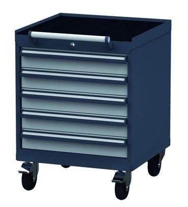 Mobiler Schubladenschrank Höhe 790 mm, 5 Schubladen, CL6H060500M – Bild 1
