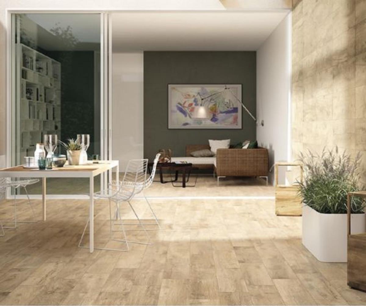 Bodenfliese Castelvetro Woodland Elm 30 x 120 cm – Bild 1