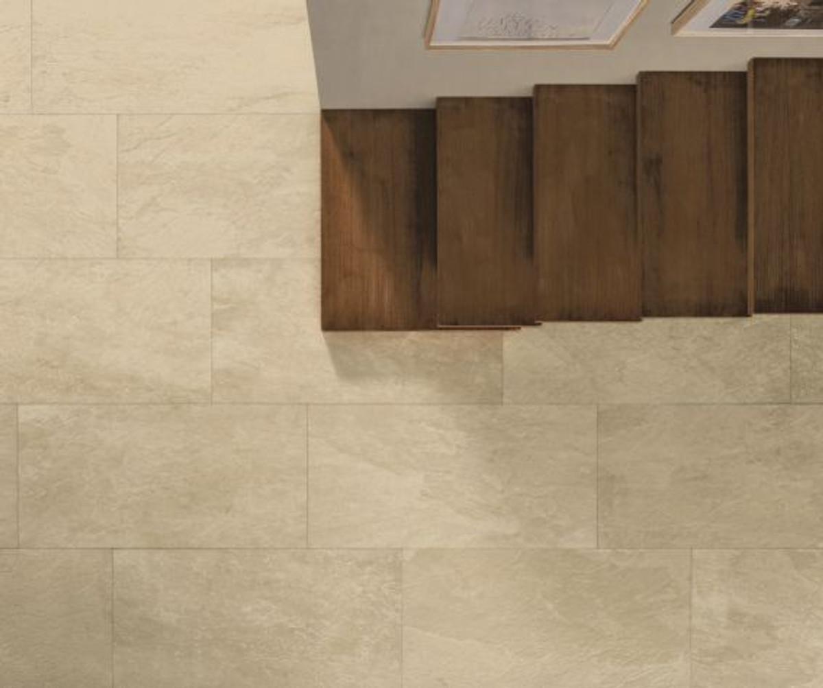 Bodenfliese Gazzini Move beige 40 x 80 cm – Bild 1
