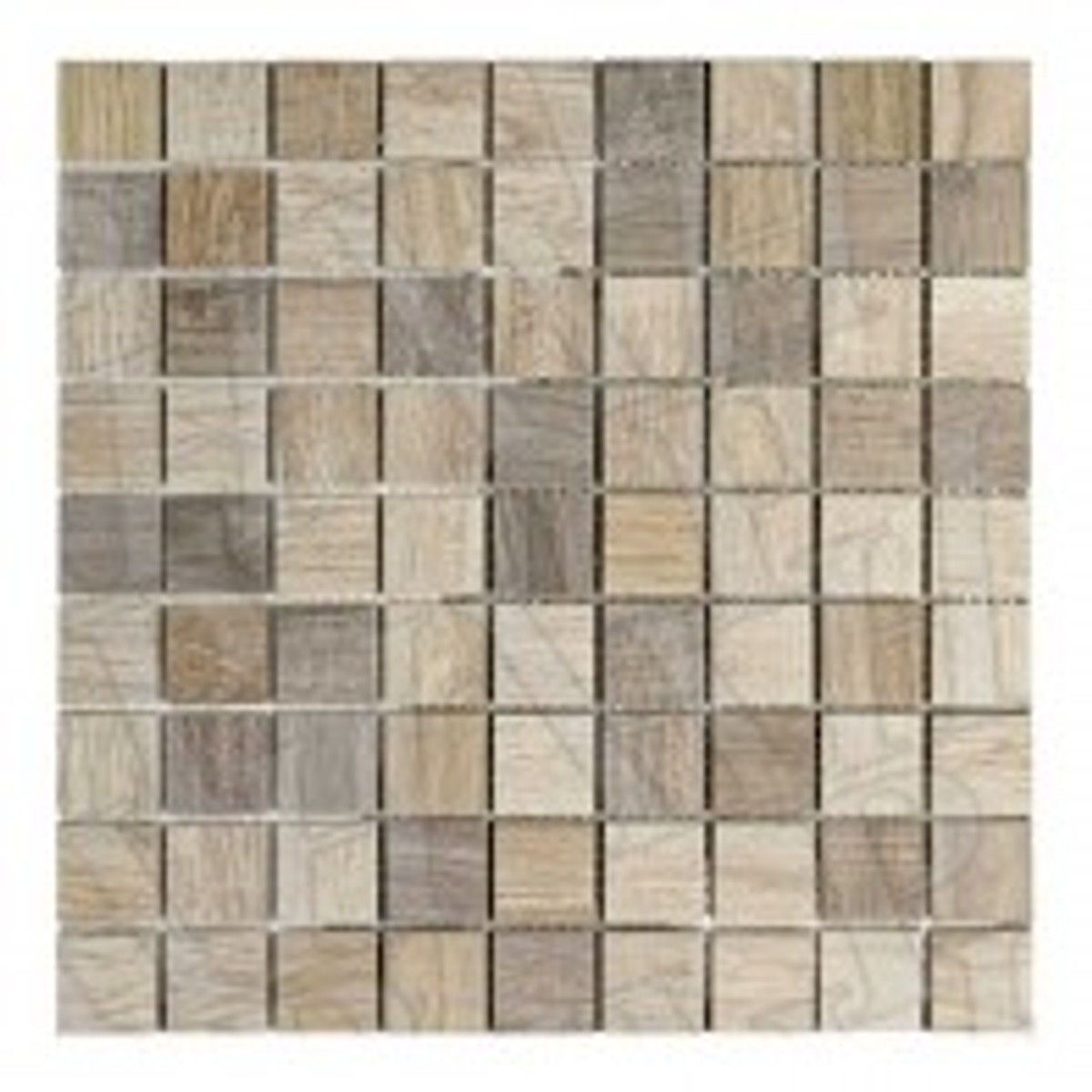 Mosaik Placke Wood 1  30 x 30 cm