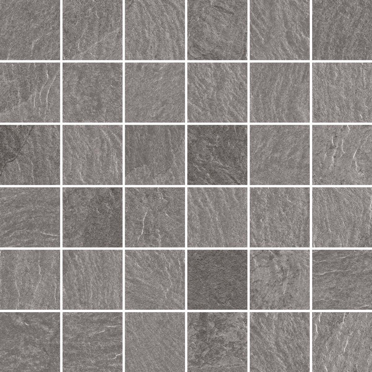 Mosaik Gazzini Slide grey Mosaik 5 x 5 cm