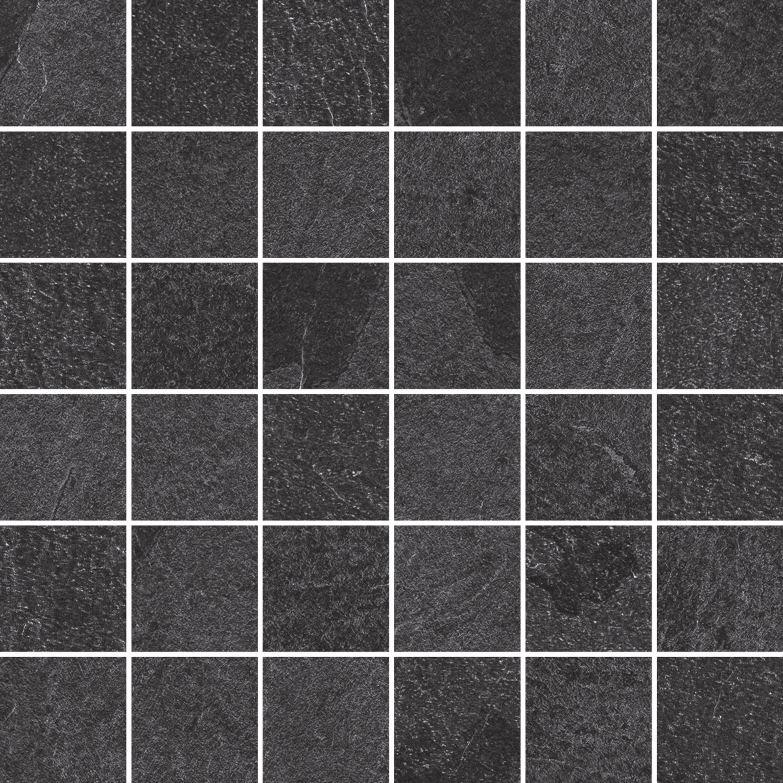 Mosaik Gazzini Slide Black Mosaik X Cm Fliesenshop Mosaikfliesen - Mosaik fliesen 5x5cm