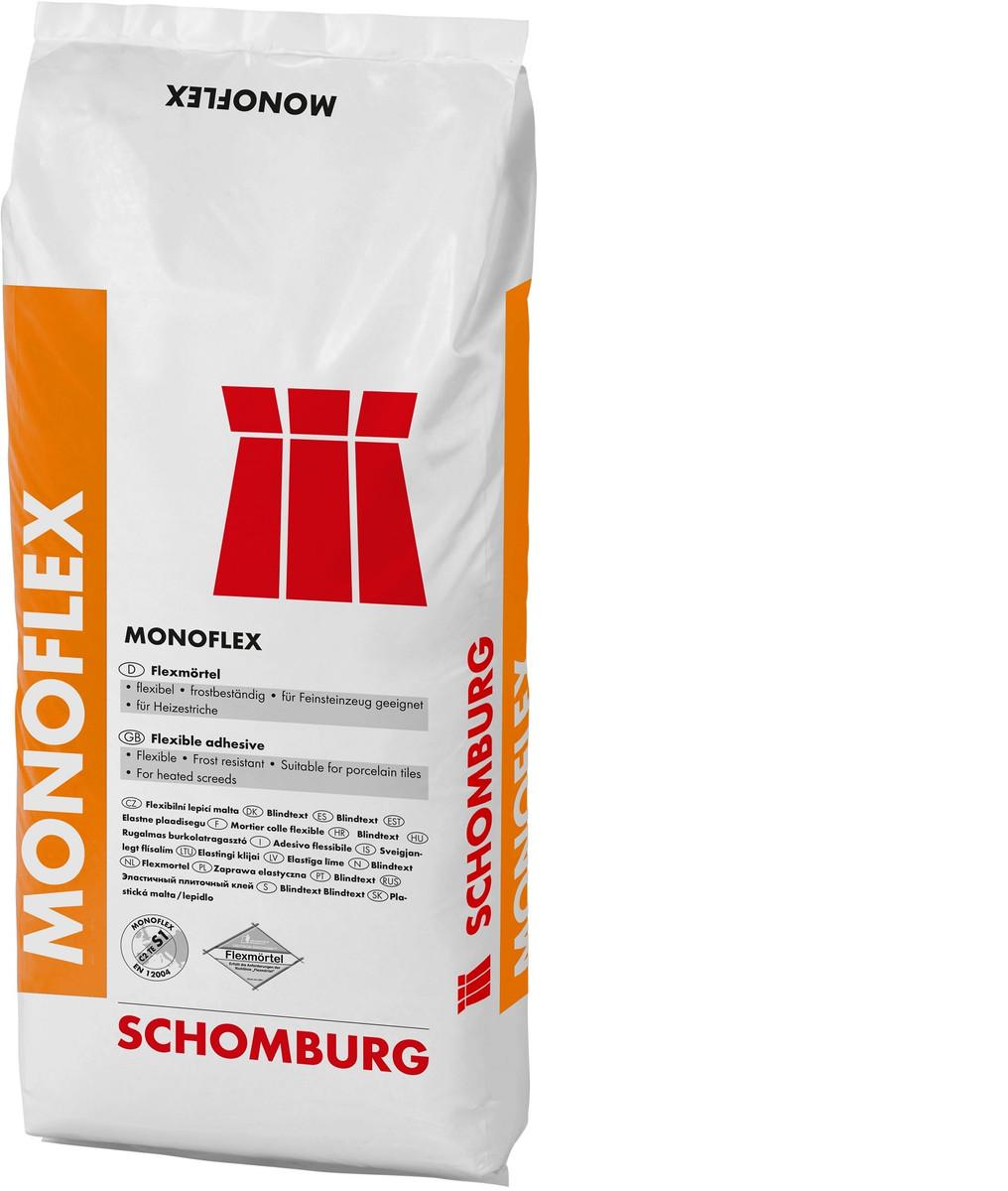 Fliesenkleber Schomburg Monoflex  1 Palette