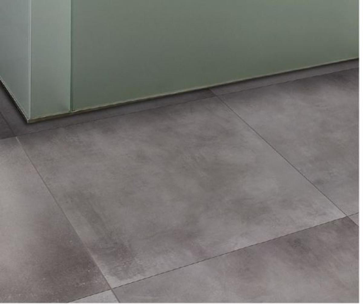 Bodenfliese Happy house cement grigio medio 80 x 80 cm – Bild 1