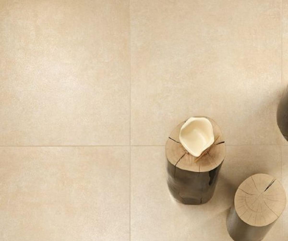 Bodenfliese Castelvetro Remix crema 60,5 x 60,5 cm – Bild 1