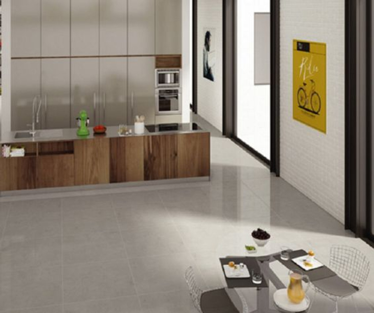Bodenfliese Century Studio grigio 30 x 60 cm – Bild 1