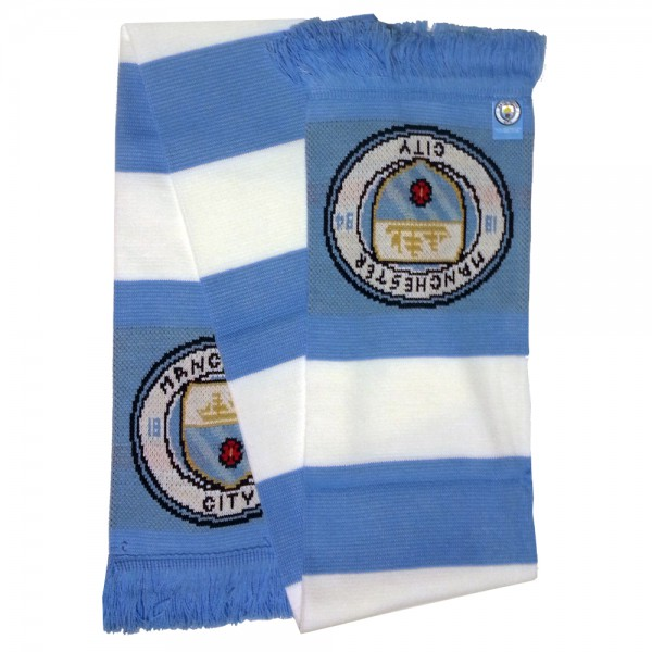 a09e53f3cbd0c Manchester City FC Original supporters scarf football premier league  sciarpa bufanda
