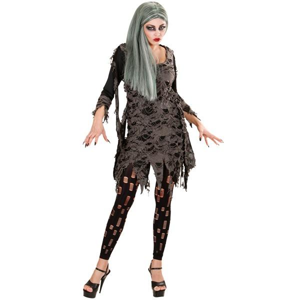 5012cc70761359 Damen Kleid Zombie Kostüm Untote Halloween Horror Gruft Grusel Dämon Fasching  Kostüme Damen Kleider.