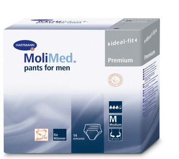 Molimed Premium pants for men, L, 14 Stück