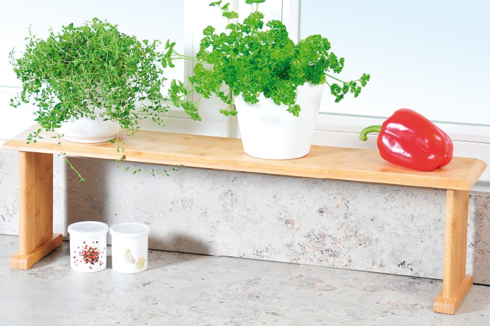 Bambus Küchenregal Für Arbeitsplatte Kleines Küchenregal Für Den Universellen Einsatz Emako