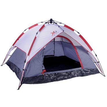 XQmax Outdoor Zelt Camping Campingzelt Tent 3 Personen