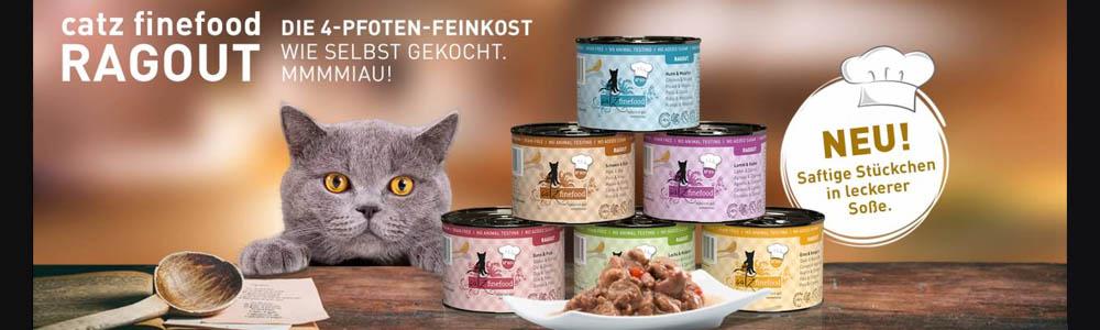 Catz finefood Ragout Fleischbröcken für Katzen in Soße
