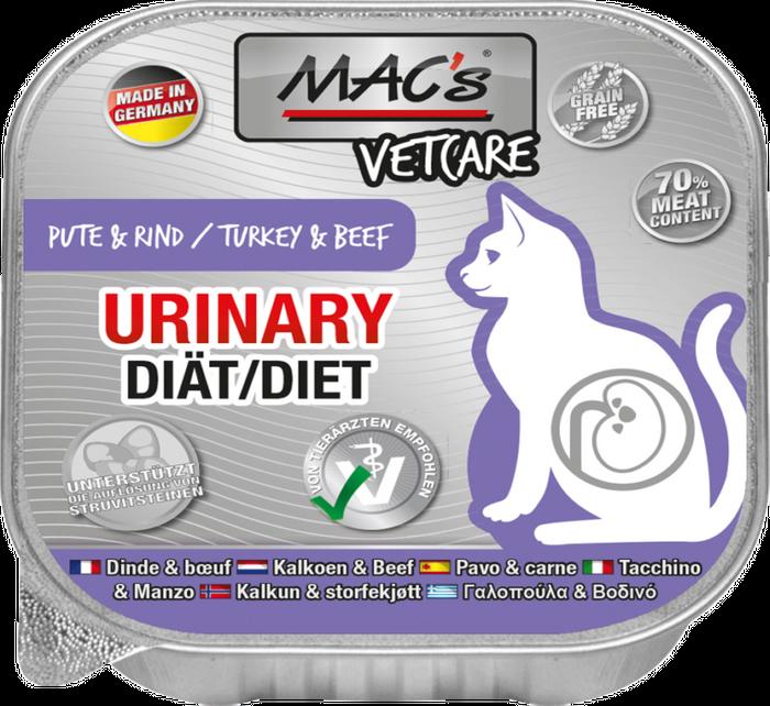 Mac´s Cat Vetcare Katzenfutter -  Spezial-Nassfutter in verschiedenen Sorten