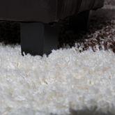 Moderner Hochflor Teppich Shaggy Vigo Gemustert in Braun Beige Creme Top Preis!! – Bild 2