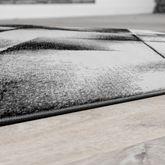 Designer Teppich Wohnzimmer Modern Kurzflorteppich Meliert In Versch. Farben – Bild 4