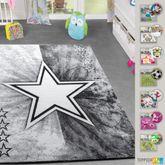 Kinderteppiche Modern Kinderzimmer Spielzimmer Teppich Versch. Designs Farben – Bild 1