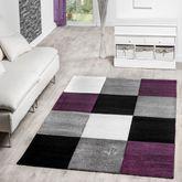 Designer Teppich Preiswert Lugo Modern Mit Karo Muster In Verschied. Farben – Bild 10