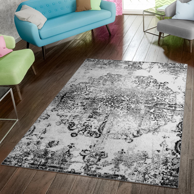 teppich modern preiswert wohnzimmer teppiche shabby chic vintage schwarz wei moderne teppiche. Black Bedroom Furniture Sets. Home Design Ideas