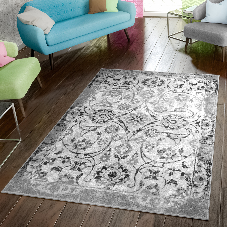 Teppich Modern Preiswert Wohnzimmer Teppiche Vintage
