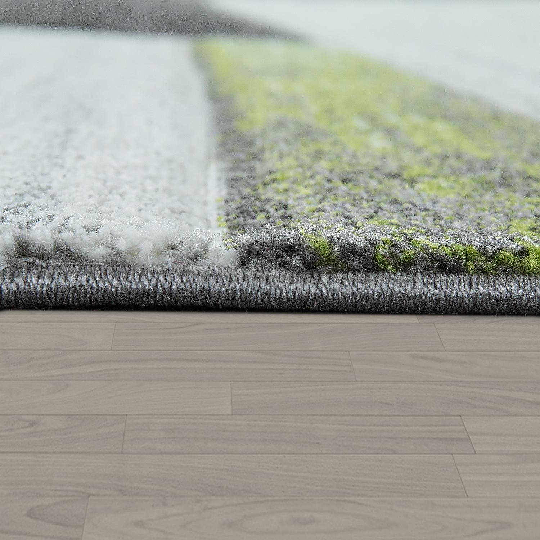 moderner kurzflor teppich geometrisches design. Black Bedroom Furniture Sets. Home Design Ideas