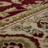 Teppich Orient Optik Perser Muster Klassisches Design Florale Ornamente Rot Beige – Bild 2