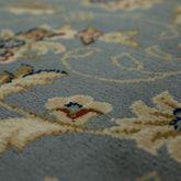 Teppich Orient Optik Perser Muster Klassisches Design Florale Ornamente Grau Blau – Bild 2