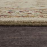 Teppich Orient Optik Perser Muster Klassisch Florale Ornamente Beige Creme Rot – Bild 3