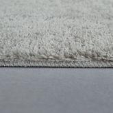 Microfaser Badematte Kuschelig Weich Moderner Badvorleger Rutschfest In Uni Grau – Bild 3