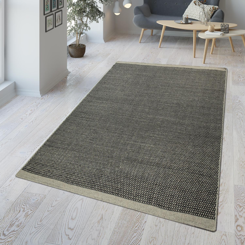 Tapis coton Kurzflor Carpet Vintage Shabby patschwork DESIGN RUG salle à manger