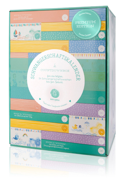 Wwillingsedition Schwangerschaftskalender Countdownbox