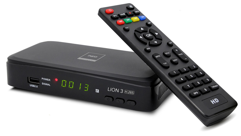 dvb t2 full hd tv terrestrischer receiver opticum lion 3 h. Black Bedroom Furniture Sets. Home Design Ideas