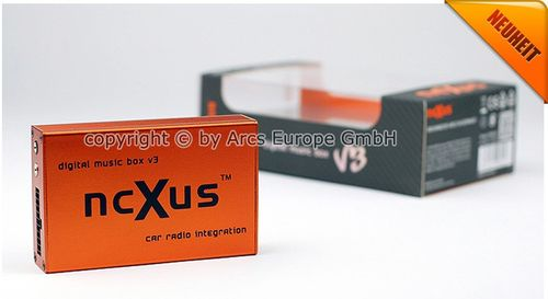 [Paket] ncXus V3 Pro 8-Pin + 20-Pin Verteiler USB SD MP3 CD Wechsler Interface für VW AUDI SKODA SEAT mit Bluetooth A2DP