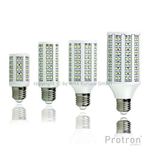 Protron LED Leuchte Lampe - Maisform E14 E27 G24 3528 warmweiß 3W 5W 8W 11W - Auswahlset