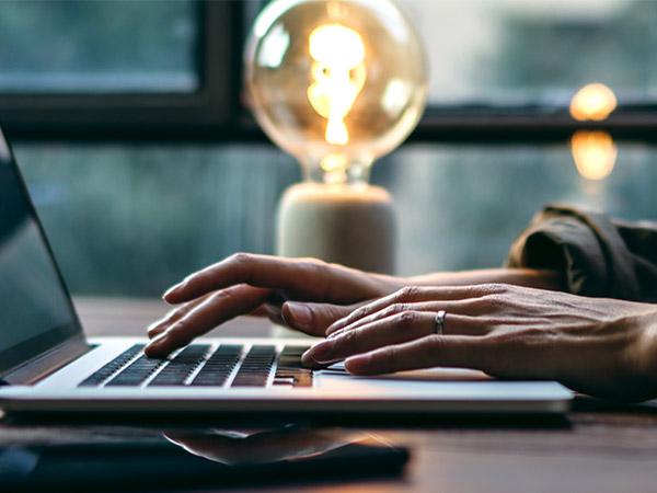 Online Einkauf Licht