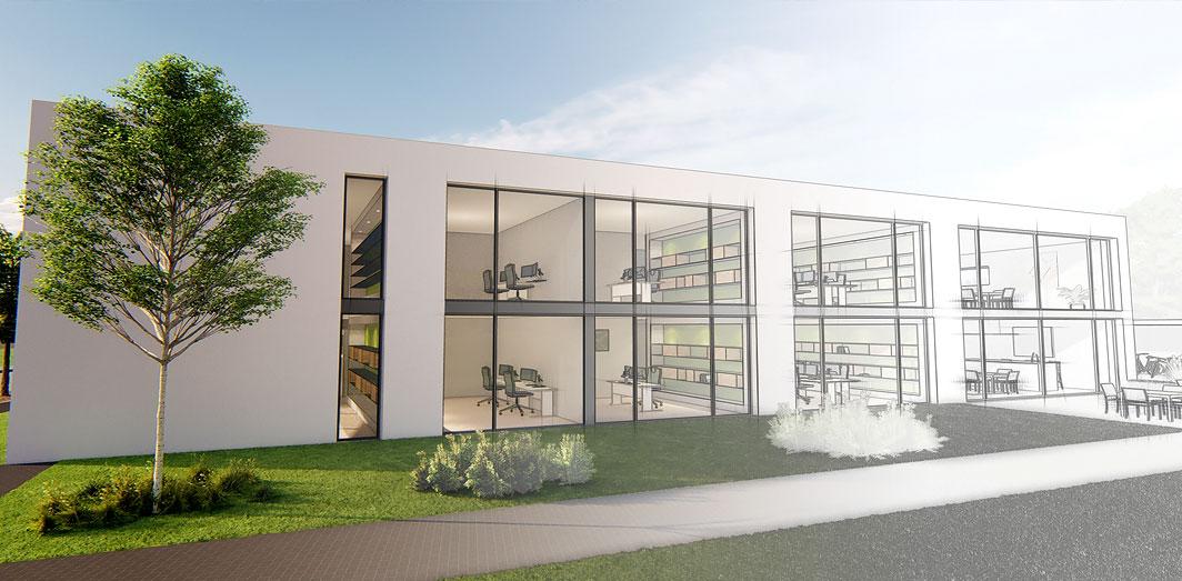 SSC-Luxon - Neues Firmengebäude Juli 2019