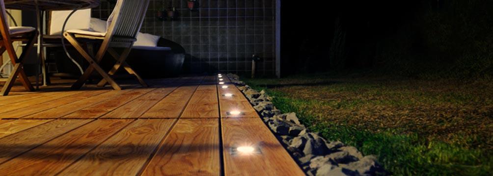 LED Bodeneinbauleuchten Aussenbereich
