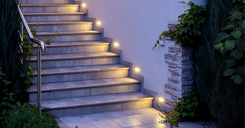 LED Wand Einbauspots Piko