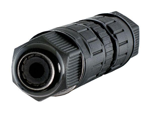 wCable Kabelverbinder 3-polig für Außen Erdkabel Ø 4-8 mm IP67 Wasserfest - PLUG-Version für noch einfachere Installation – Bild 5