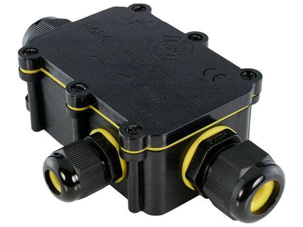 wCable Kabelverbinder Box 5-polig für außen Erdkabel Ø 5-12 mm IP68 Wasserdicht – Bild 2