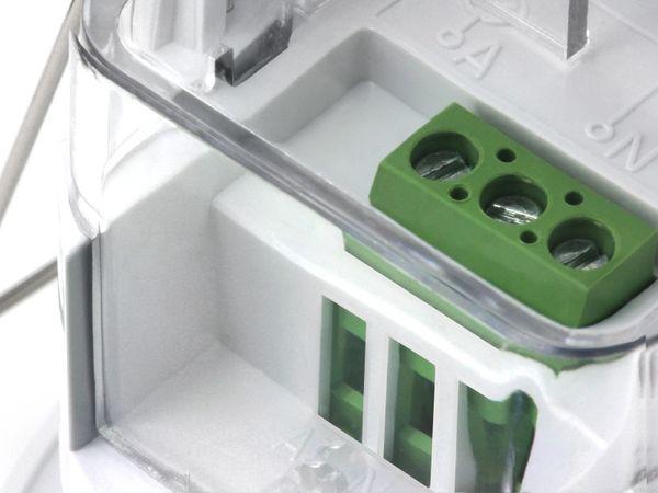 Deckeneinbau-Bewegungsmelder mit 360° Erfassungswinkel, 230V/1200W für LED, 6m Detektion, weiß – Bild 3
