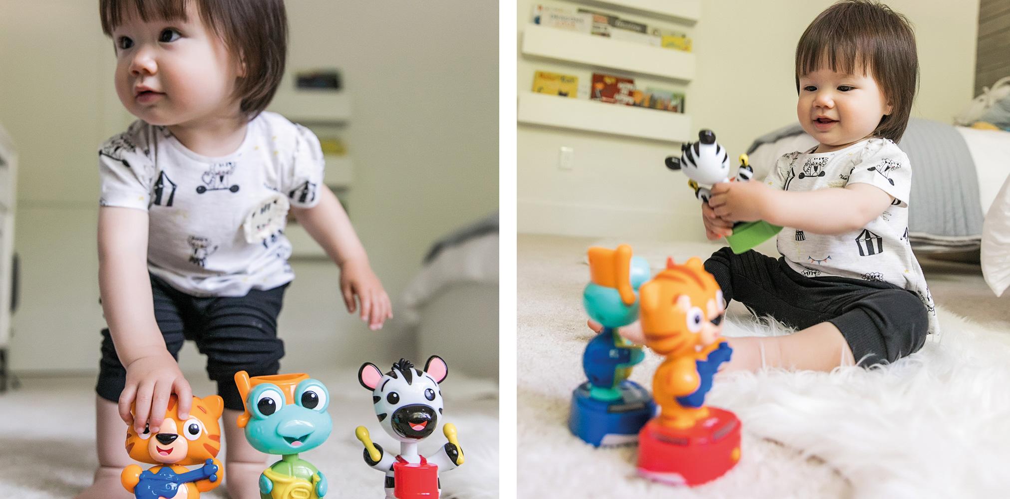 Baby Einstein Bobble Beats Musikspielzeug für Babys ab 12+ Monate