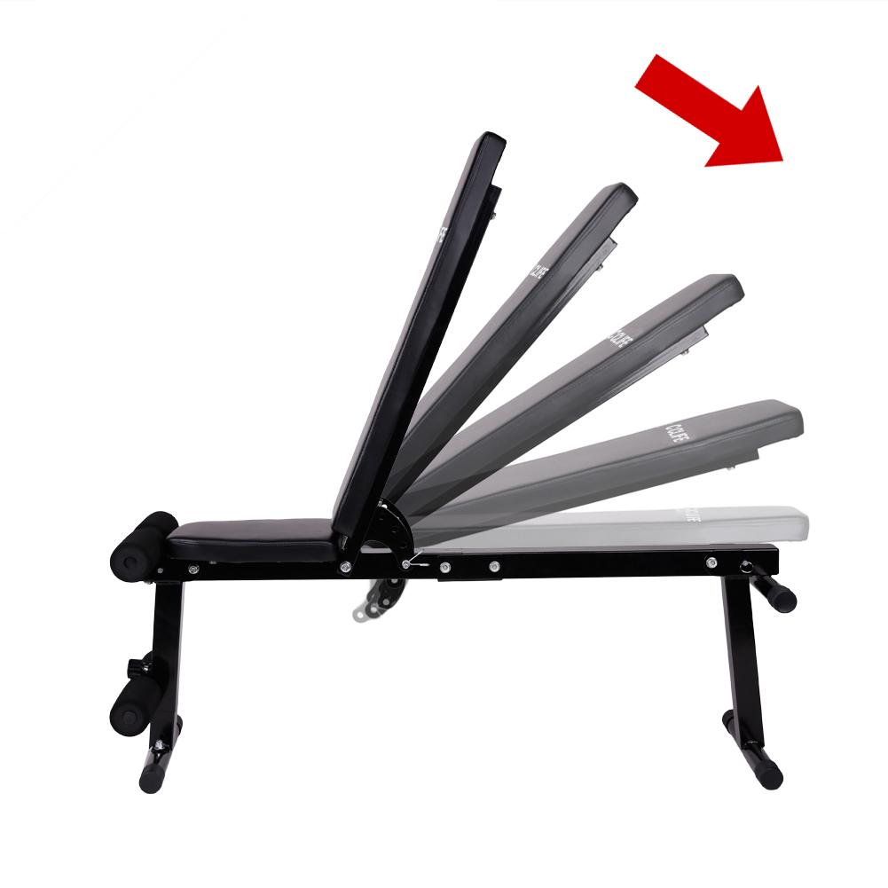 cclife banc de musculation multifonction inclinable banc. Black Bedroom Furniture Sets. Home Design Ideas