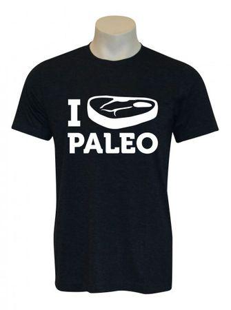 AMRAP I Steak Paleo Shirt Herren – Bild 1