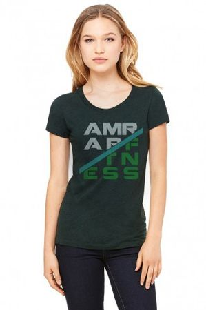 AMRAP Matrix Tri-Blend Shirt Damen