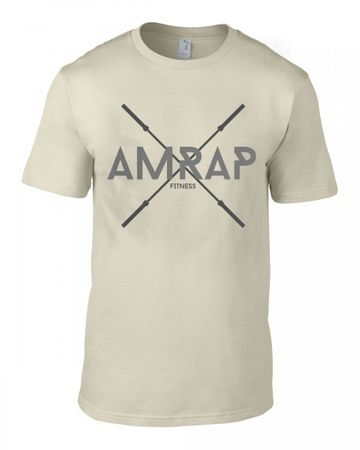 AMRAP Crossed Barbells Shirt for Men – Bild 3