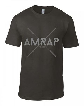 AMRAP Crossed Barbells Shirt for Men – Bild 2