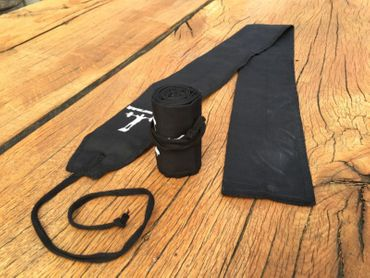 AMRAP CF Wrist Wraps All-Black