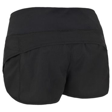 Workout Shorts Damen Schwarz – Bild 3